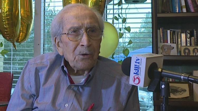 WWII Veteran celebrates his 100th birthday in Corpus Christi