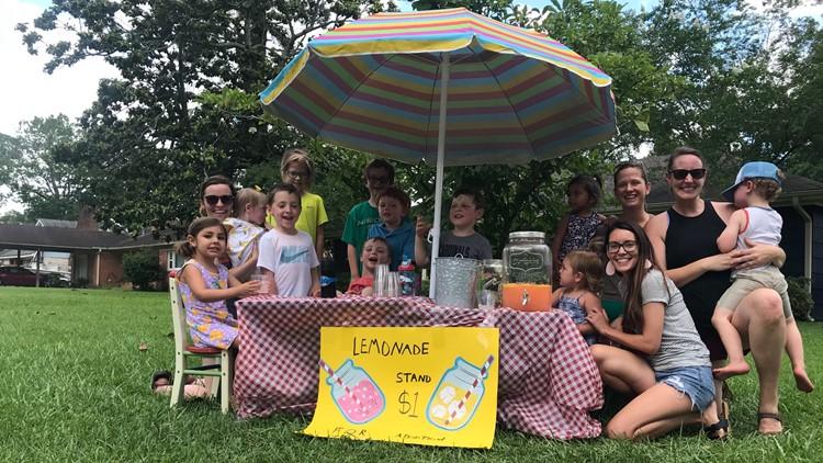 Lemonade baby: Children open lemonade stand to help fund adoption