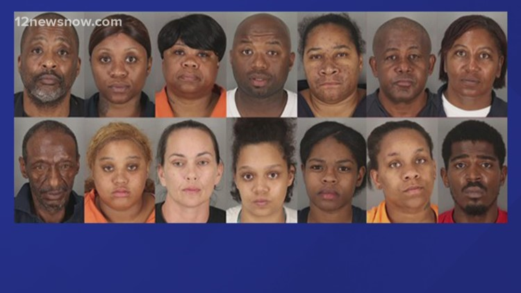 Mugshots released of suspects accused of food stamp fraud