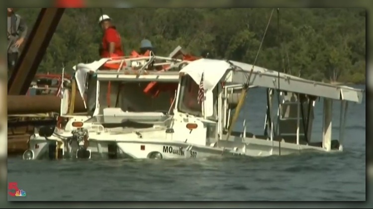 Crews started to pull the boat to surface around 10 a.m.