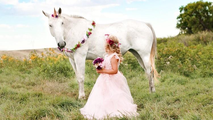 Up Unicorn photoshoot