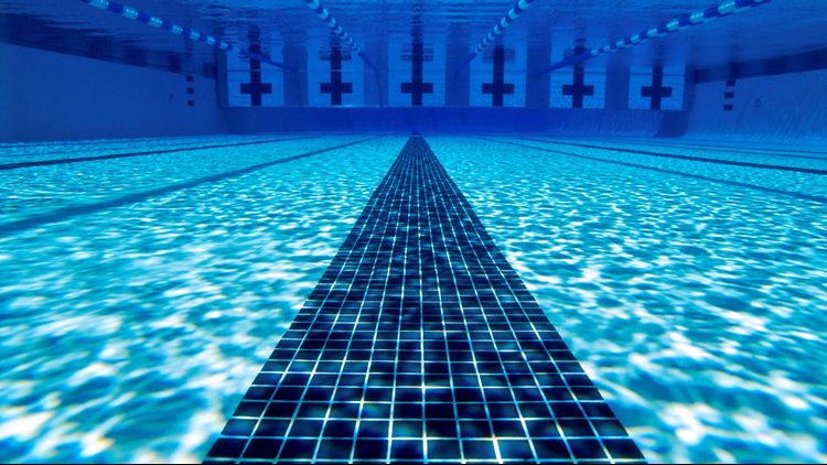 Swimming Pool cropped underwater
