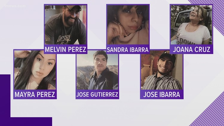 Police identify 6 victims killed at Colorado Springs birthday party