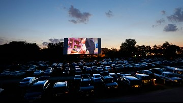 New drive-in theater opens in Hutto just in time for Valentine's Day