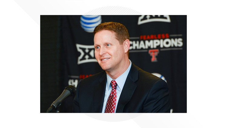 Big 12 fines Texas Tech AD Kirby Hocutt after he issued statement about officiating in Baylor 2OT loss