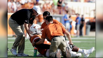 UT lineman Patrick Hudson is out of the hospital