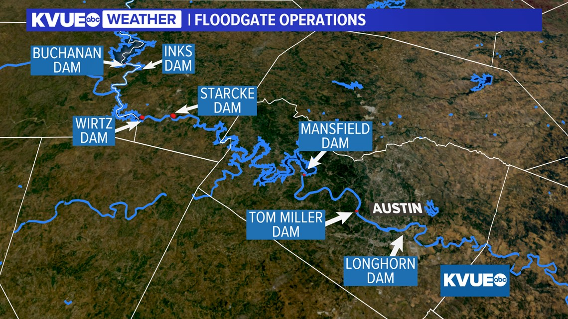 As Lake Travis Rises Here S A Look At How Water Flows