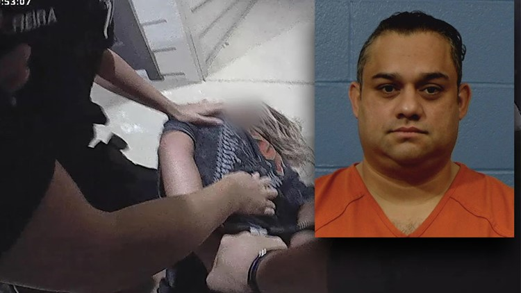 Former Williamson County deputy arrested after domestic violence victim thrown to ground