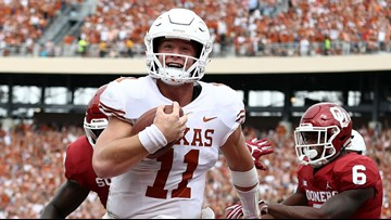 'Longhorns aren't snowflakes': Former players react to reported Big 12 penalties for 'Horns Down'
