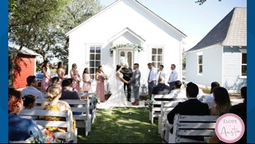 Elope in Austin offers quick weddings starting at $250