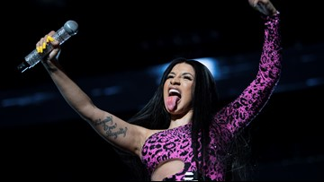 Tardy be Cardi B: Thousands hold out for rapper's hot headlining set at ACL Fest 2019