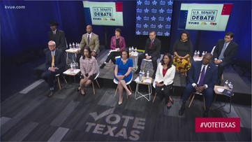 U.S. Senate Democratic primary debate on Feb. 18