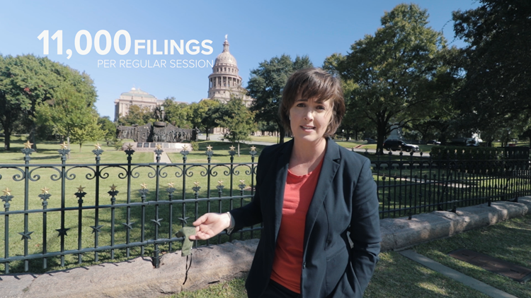 Texas prefiling bills crosses 700 mark   Many focus on voting, marijuana and COVID-19