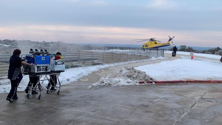 'There is nobody more vulnerable than a one-pound baby.' Doctor, nurses travel through ice and snow to take care of newborn preemie