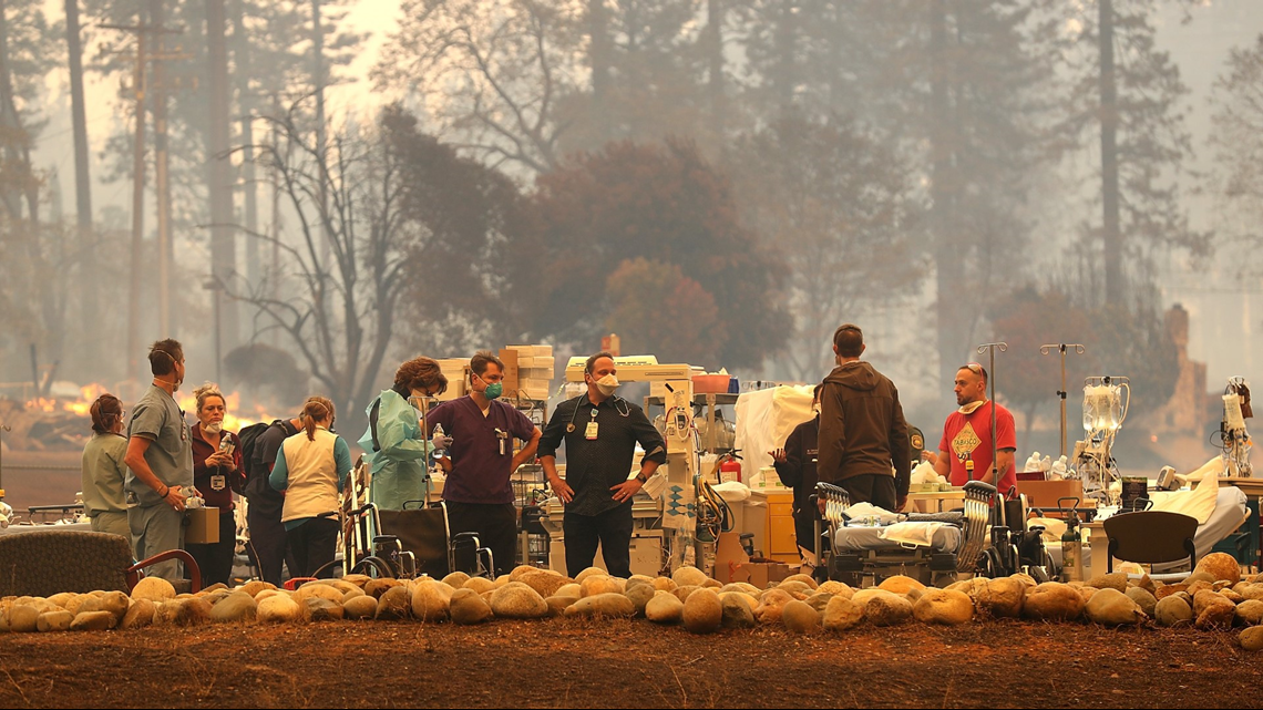 'Get your patients out now.'   Nurse describes Camp Fire forcing hospital to evacuate twice
