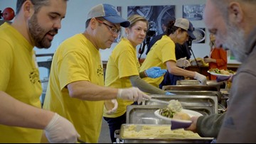 Sierra Nevada Brewing Co. hosts Camp Fire survivors for Thanksgiving dinner
