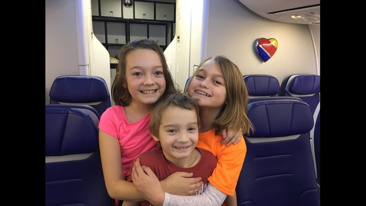 The kids and I love Southwest for free checked bags and friendly service. Here's how to set up a Southwest Account to earn points for free travel. (Photo by Jasmin Baron/Million Mile Secrets)