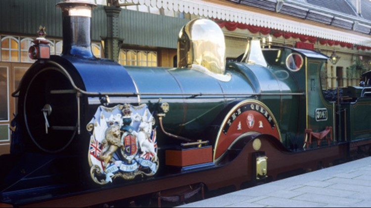 Windsor, Berkshire, Queen Victoria's Royal Train