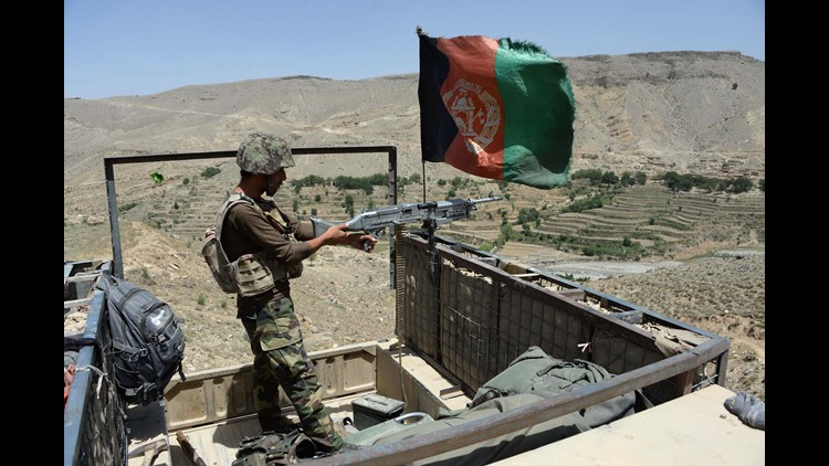<p>U.S soldiers were wounded, and one Afghan soldier was killed. </p>
