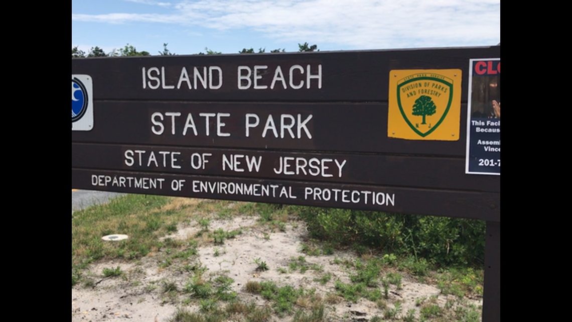 Beach Closings New Jersey Today
