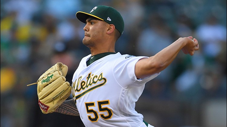 Manaea became the first A's pitcher to throw a no-hitter since Dallas Braden's perfect game against the Tampa Bay Rays in 2010.