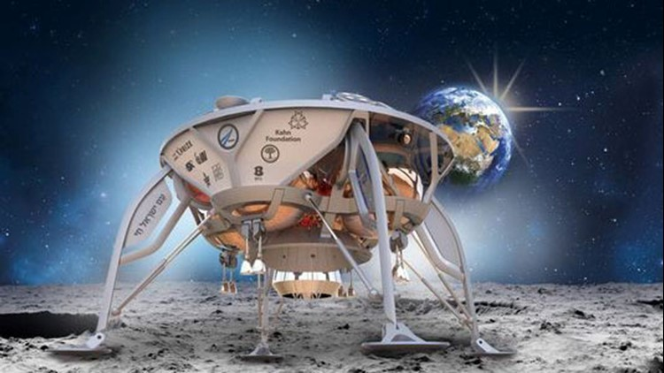 The moon launch is the product of SpaceIL's participation in Google's Lunar XC Prize competition.