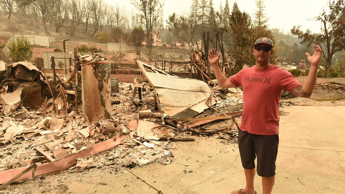 Carr Fire burns into Redding