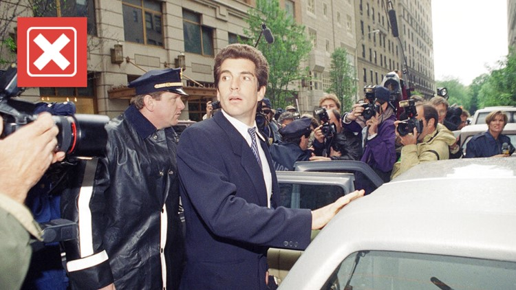 No, there isn't evidence to support claims John F. Kennedy Jr. faked his death and will join Trump in office