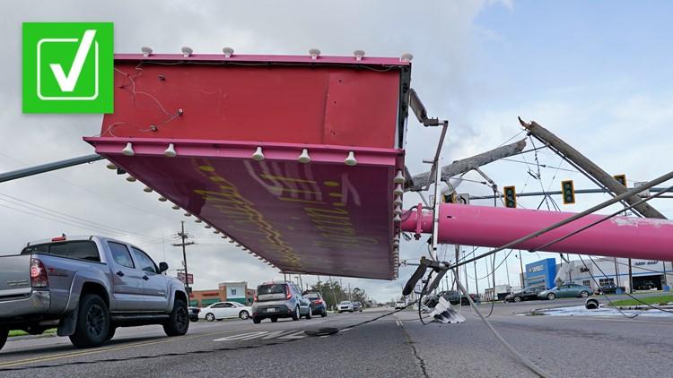 Yes, Ida had stronger winds than Katrina at landfall, but Katrina was a larger storm