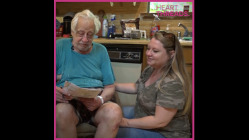 Uber driver befriends elderly passenger