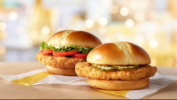 McDonald's is testing a new chicken sandwich in Houston