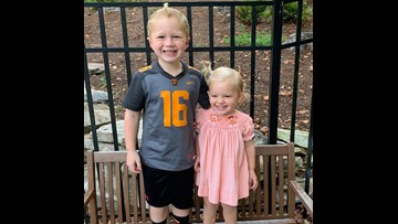 4-year-old boy saves his little sister from drowning