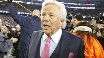 Patriots' owner Robert Kraft charged with soliciting prostitution
