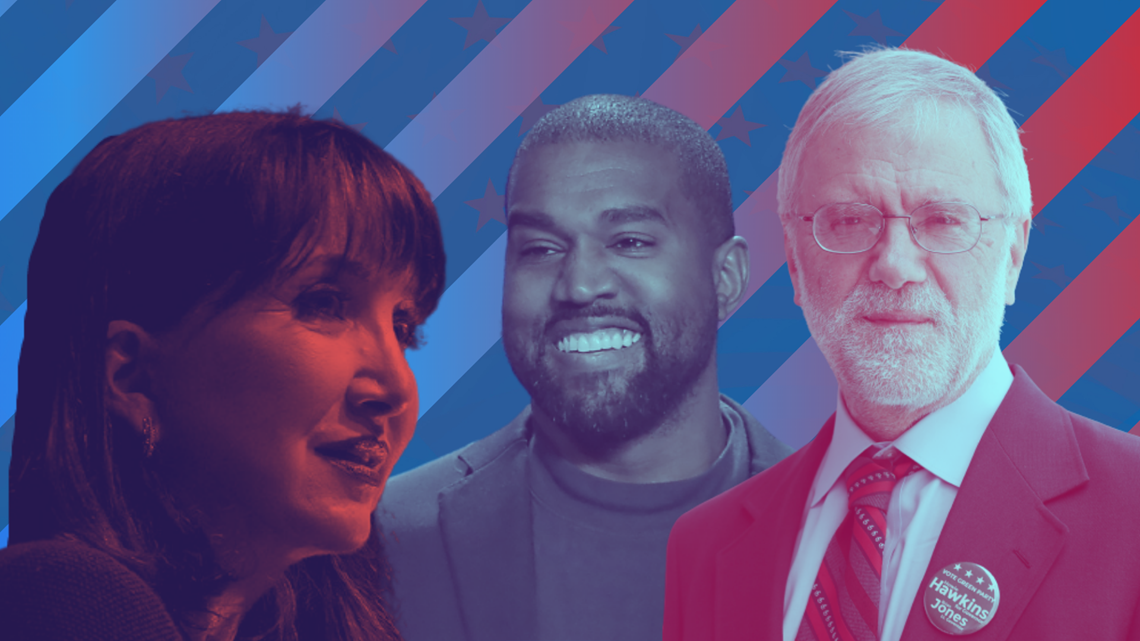 Third Party Candidates Running For President In The 2020 Election Kcentv Com