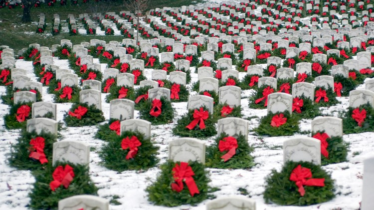 Wreaths Across America event back on after Secretary of the Army reverses Arlington National Cemetery decision