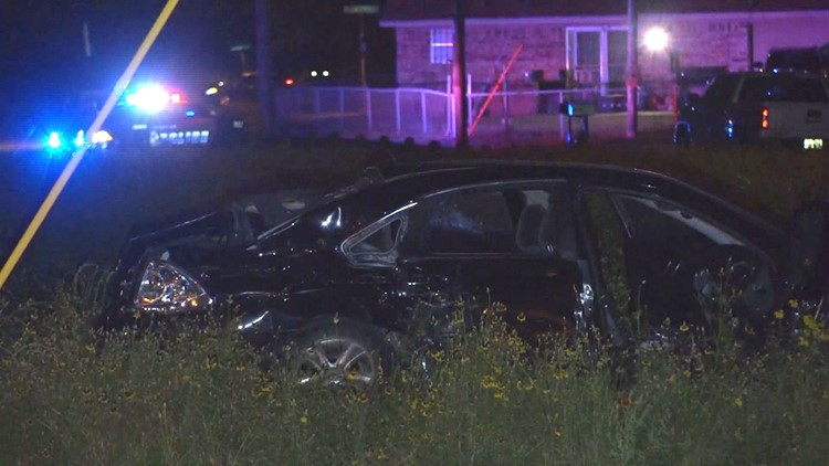 Child ejected from car, killed in street-racing collision, police say