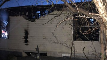 'Pass me the kid!' Body cam video shows family of 8 rescued from burning home