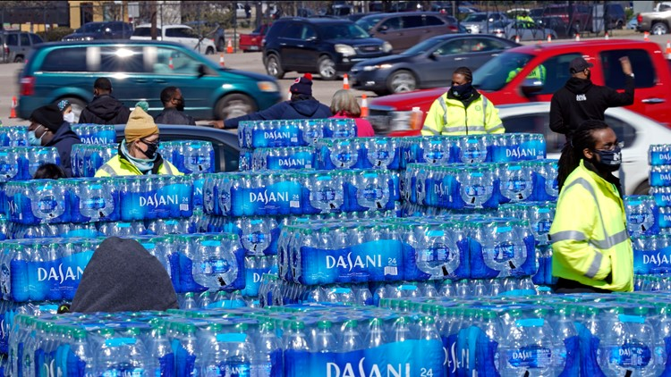LIST | Water, food distribution locations across Central Texas