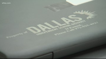 Students at six Dallas ISD high schools receiving take-home laptops and Wi-Fi