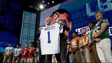 Three positions Cowboys could consider with their first pick in NFL Draft