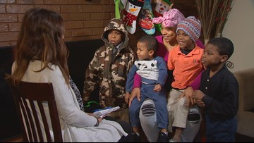 Single mom of four boys surprised with four months of free daycare