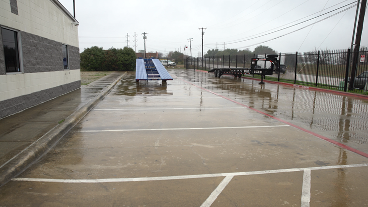 Motorcars of Dallas empty lot