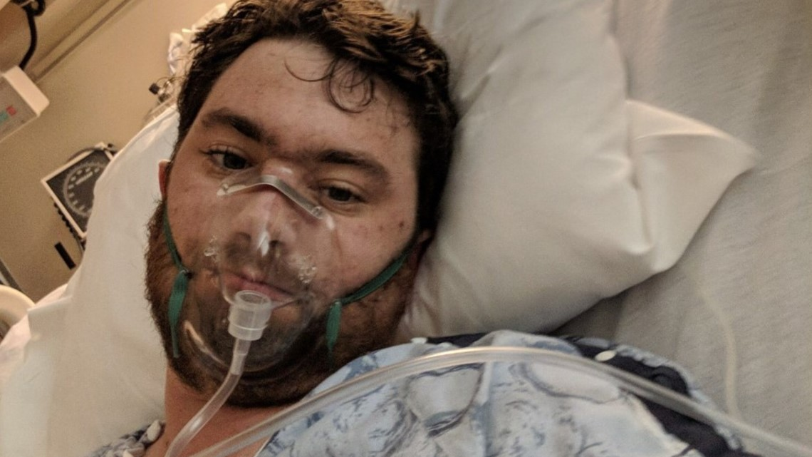 28-year-old hospitalized in Irving warns of the dangers of vaping