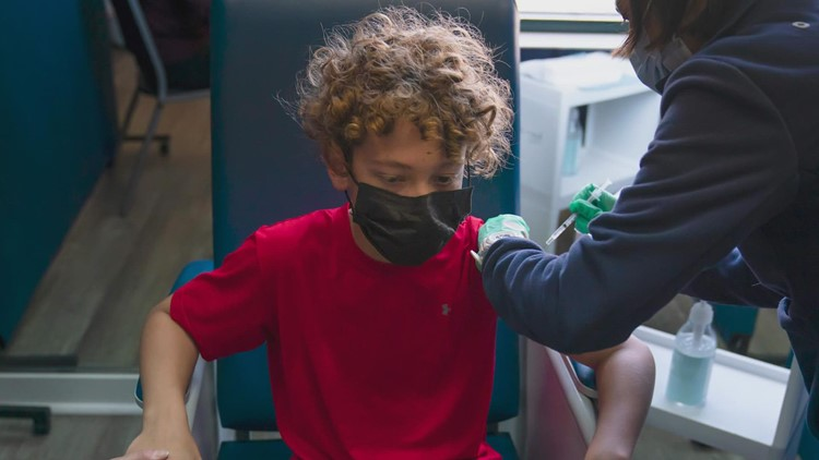 Here's how Texas kids under 12 will be able to get a COVID shot