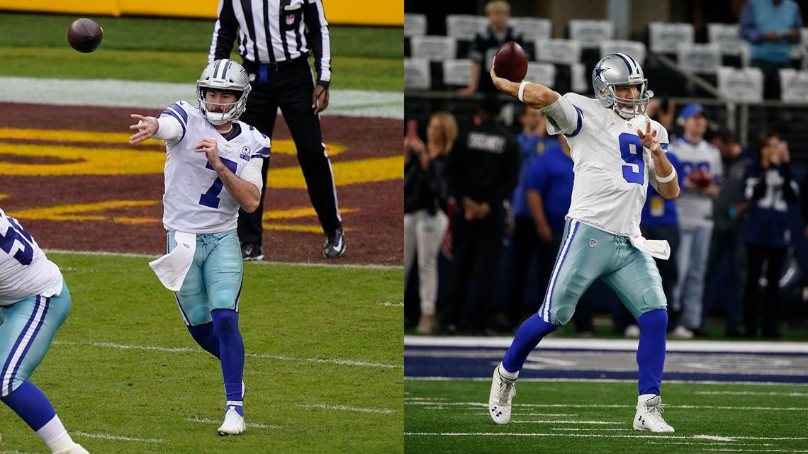 Ben Dinucci Eerily Akin To Tony Romo S Debut For Dallas Cowboys Kcentv Com