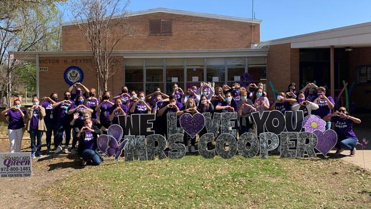 'Strong and fierce': Dallas teacher kept teaching through chemo