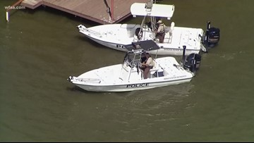 'Daddy went swimming': Girl, 3, found alone on boat on Lake Granbury