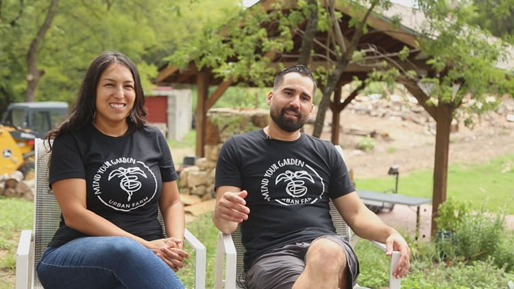They grew up food insecure, now this Fort Worth couple wants to help others through urban farming