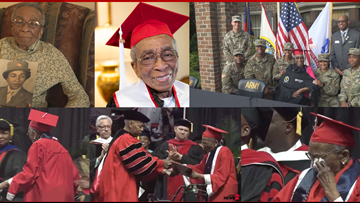 70 Years In The Making: Triad WWII Veteran Gets To Hear Name Called, Walk on Graduation Day at WSSU