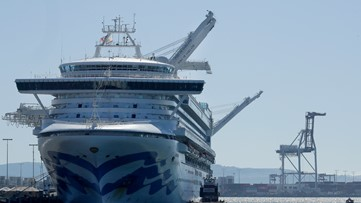 President Trump says top cruise ship companies stopping trips from US